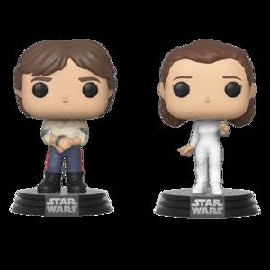FUNKO POP! Star Wars - 2Pack Han&Leia