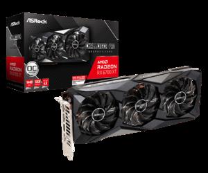 Grafička kartica ASRock AMD RADEON RX 6700 XT Challenger Pro 12GB OC, 12GB GDDR6