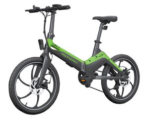 MS ENERGY e-bike i10 black green