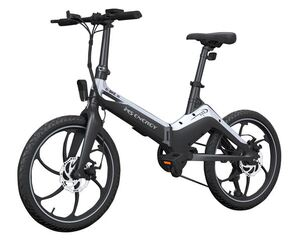 MS ENERGY e-bike i10 black grey