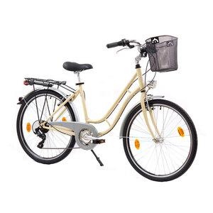 """XPLORER gradski bicikl MADEIRA IVORY 26"""" krem"""