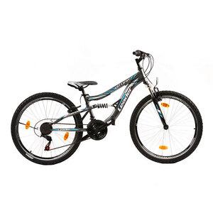 """XPLORER bicikl MTB IRON BLACK 26"""" sivo/plavi"""