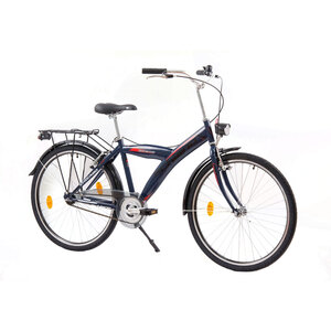 """XPLORER gradski bicikl THUNDER 26"""" plavo/crveni"""
