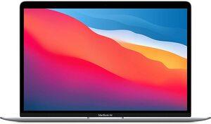 Apple MacBook Air, mgn93cr/a, 13,3, M1, 8GB RAM, 256GB, Silver, laptop