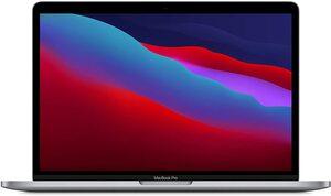 Apple MacBook Pro, myd92cr/a, 13,3, M1, 8GB RAM, 512GB SSD, Space Grey, laptop