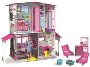 Barbie kartonska kuća iz snova