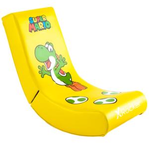 X Rocker Official Nintendo Super Mario All-Star Collection Yoshi gaming stolica, žuta