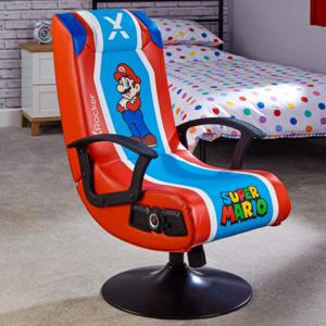 X Rocker Official Nintendo Super Mario 2.1. gaming stolica, plavo/crvena