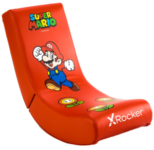 X Rocker Official Nintendo Super Mario All-Star Collection – Mario gaming stolica, crvena
