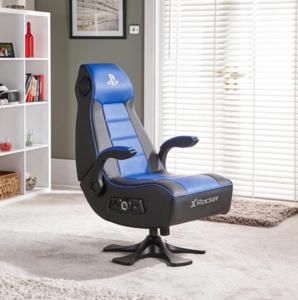 X Rocker Official Sony Playstation Infiniti 2.1. gaming stolica, crno/plava