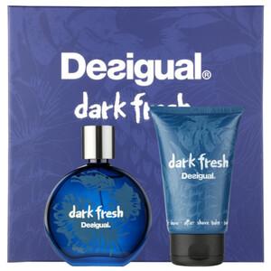 Desigual Dark Fresh EDT Gift Set: EDT 100 ml - Aftershave Balm 100 ml, muški poklon set