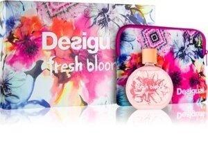 Desigual Fresh Bloom EDT Gift Set: EDT 100 ml - Vanity Bag, ženski poklon set