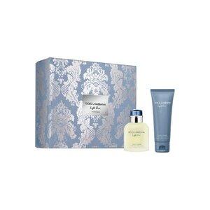 Dolce & Gabbana Light Blue Men EDT Gift Set: EDT 75 ml - Aftershave Balm 50 ml, muški poklon set