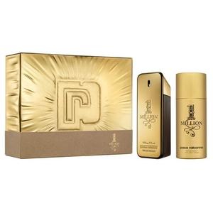 Paco Rabanne 1 Million EDT Gift Set: EDT 100 ml - Deodorant 150 ml, muški poklon set