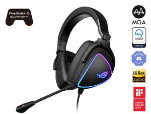 Asus Rog Delta S, Aura Sync RGB, gaming slušalice PC/PS/Xbox /Switch, crne