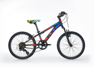 FRERA dječji bicikl KIGAN 24 18 VEL 14 plavo/narančasti