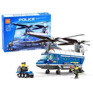 Set kockica policijski helikopter Chinook s dodacima