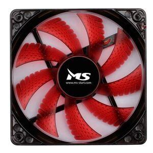 Ventilator za kućište MS FREEZE L120 crveni 12 cm