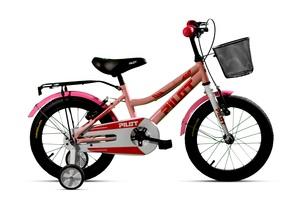 PILOT dječji bicikl 14'', pink