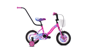 "CAPRIOLO dječji bicikl BMX 12""HT VIOLA ljubičasto/roza"