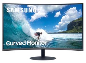 Samsung monitor LC32T550FDRXEN, VA, 75Hz, DP, HDMI, zakrivljeni