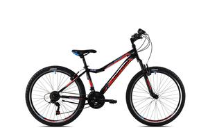 CAPRIOLO bicikl MTB DIAVOLO DX FS 26'/18HT crno/crveni