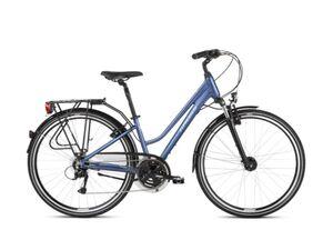 KROSS gradski bicikl TRANS 4.0 Women plavo/bijela, vel.M