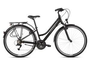 KROSS gradski bicikl TRANS 1.0 WOMEN crno/siva, vel.L