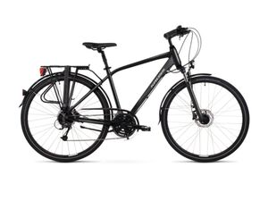 KROSS gradski bicikl TRANS 5.0 MEN crno/siva, vel.M