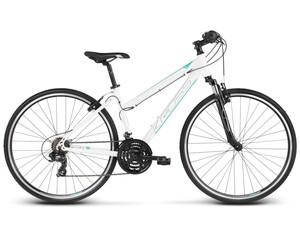 KROSS trekking bicikl Evado 1.0 Women bijelo/plava, vel.L