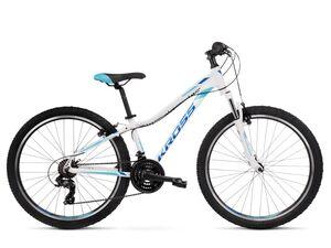 KROSS bicikl MTB Lea 1.0 26 bijelo/plava, vel.XXS