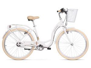 LE GRAND gradski bicikl Lille 3 26 bijelo/smeđa, vel.S