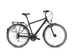 KROSS gradski bicikl Trans 3.0 Men cno/siva, vel.L