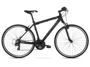 KROSS trekking bicikl Evado 1.0 Men crno/siva, vel.L