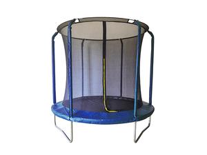 LEGONI trampolin AERO sa zaštitnom mrežom i ljestvama, 425cm-plavi