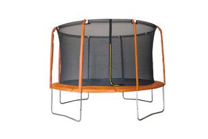 LEGONI trampolin AERO sa zaštitnom mrežom i ljestvama, 425cm-narančasti