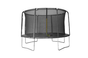 LEGONI trampolin AERO sa zaštitnom mrežom i ljestvama, 305cm- crni