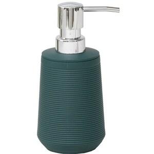 TENDANCE dozator za sapun 270 ml, uzorak pruge, abs, tamno zeleni