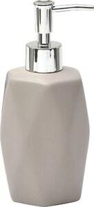 TENDANCE dozator za sapun keramika uzorak diamond, sivo smeđa