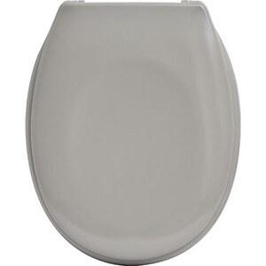 TENDANCE wc daska duroplast sa plastičnim okovima, soft close, sivo smeđa