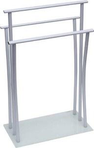 TENDANCE držač ručnika metalni sa 3 prečke, bijeli