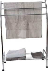 TENDANCE držač ručnika sa 3 prečke i jednom policom, krom