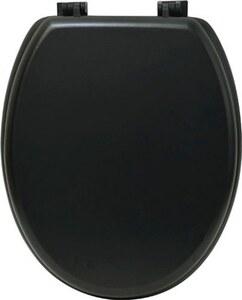 TENDANCE wc daska mdf sa plastičnim okovima, crna