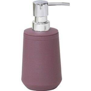 TENDANCE dozator za sapun 270 ml, uzorak pruge, abs, ljubičasti