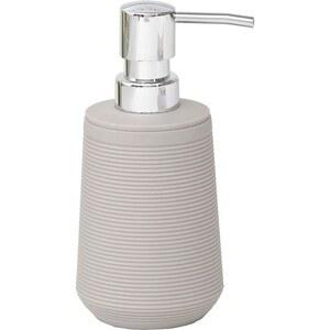 TENDANCE dozator za sapun 270 ml, uzorak pruge, abs, sivo smeđi