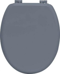 TENDANCE wc daska mdf sa plastičnim okovima, siva
