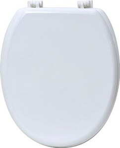 TENDANCE wc daska mdf sa plastičnim okovima, bijela