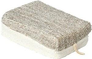 TENDANCE spužva za kupanje tkanina bambus, sivo smeđa velika