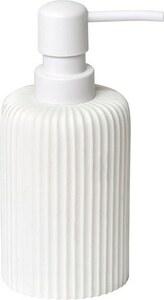 TENDANCE dozator za sapun poliresin uzorak pruge, bijela