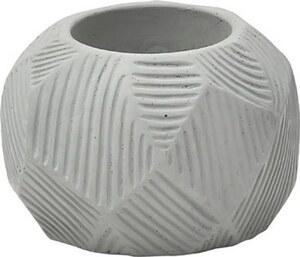 TENDANCE držač svijeća cement, sivi